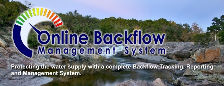 Backflow Tracking System